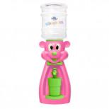 Детский кулер для воды мышка розовая Акваняня