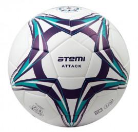 Мяч ф/б Atemi ATTACK PU, р.5, Thermo mould (б/швов)