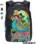 Школьный рюкзак Grizzly RD-753-1