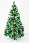 Искусственная елка с заснеженными кончиками - высота 210 см