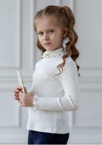 блузка трикотажная Б*лосем ваниль