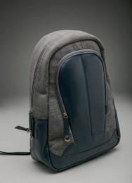 Рюкзак 100% кожа со вставками, Монголия