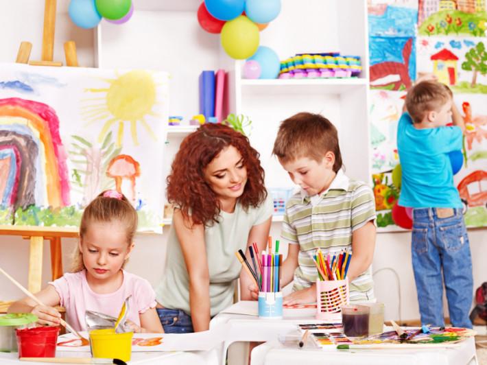 Детский сад. Развитие