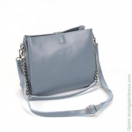Женская кожаная сумка 1172 Минт