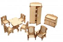 Мебель для домика Зал