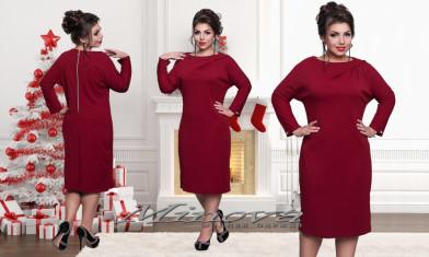 Платье №112-бордо