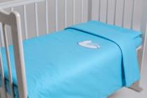 Постельное бельё в кроватку Мишка на подушке