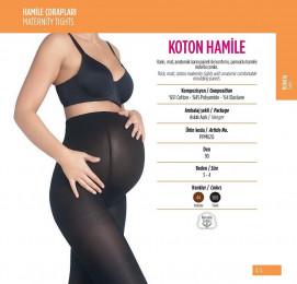 PNT Колготки для беременных 90 DEN KOTON HAMILE черный