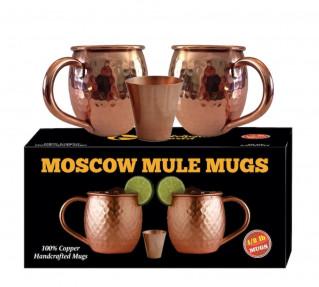 Moscow Mule Copper Mugs - Each Mug weighs 1/2 Pound