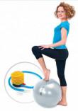 Мяч для фитнеса «ФИТБОЛ-55» с насосом
