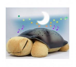 Ночник проектор звездного неба - музыкальная черепах
