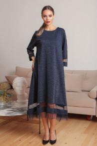 Платье 437/1, синий