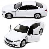 Инерционная машинка BMW M5, белая, 13см (1:32)