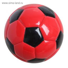 Мяч футбольный, 2 подслоя, PVC, машинная сшивка, размер 2, ц