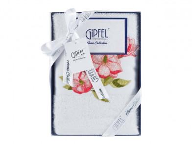 40769 GIPFEL Полотенце FLOWER, 50x100 см., белый,  состав: 1