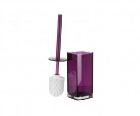 Roma (фиолетовый) Ёрш для унитаза, полимер