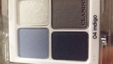 Clarins тени 4 цветные 04.05.02.03