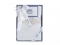 40781 GIPFEL Полотенце DAMASK, 50х90 см, белый, состав: 100%