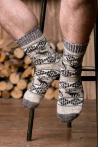 Носки шерстяные N6R73-1