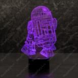 3D светильник R2D2
