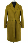 01-8109 Пальто женское демисезонное (пояс) Валяная шерсть Ол