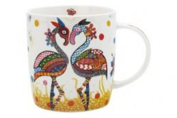 Кружка Фламинго в подарочной упаковке