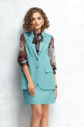 блуза, жилет, юбка Gizart Артикул: 7350б