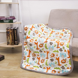 Baby Blanket Print Fleece