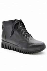 Кожаные осенние женские ботинки