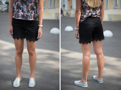 Женские джинсовые шорты черные The Bark 000 the bark