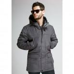 Куртка мужская демисезонная 075  Nikolom серая (Беларусь)