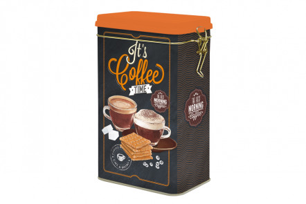 Банка для кофе Easy Life (R2S), Италия Металл 13 х 8 х 21см