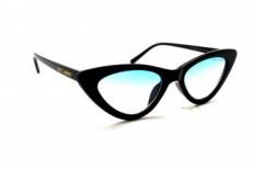 солнцезащитные очки 2019- ЛЮКС SL 8415 синий черный