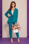 блуза, брюки, жакет Dilana VIP Артикул: 1502 бирюза