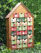 Адвент-календарь с цветопечатью