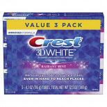 Crest 3D White Toothpaste Radiant Mint (3шт)
