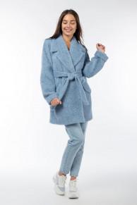 01-9833 Пальто женское демисезонное (пояс)