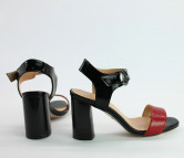 Женственные кожаные босоножки. New Collection 18