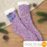 "Носки женские MINAKU ""Конфетти"", размер 23-25, цвет фиолетов"