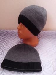 шапка мужская подростково-взрослая