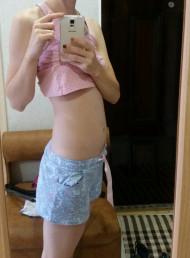 Фото животиков на 7 неделе беременности