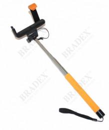 Штатив для создания снимков сэлфи оранжевый (Camera Stick -