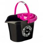 пластмассовое ведро 12л  Rococco pink