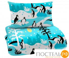 """Одеяло легкое 1,5 сп. """"Пингвины"""""""