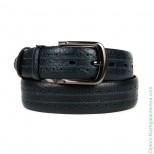 Мужской джинсовый кожаный ремень Doublecity RD40-16-01 Т.Син
