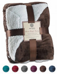 Sherpa Throw Blanket Ultra Soft Super  177x152