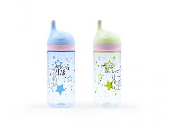 6861 FISSMAN Бутылка для воды 400 мл (пластик)