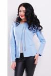 Пиджак 1717 голубой