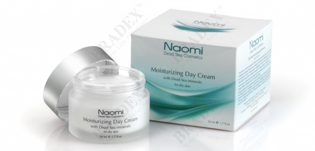 Крем для лица увлажняющий с минералами Мертвого моря «NAOMI»