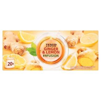 Очень вкусный чай Лимон и Имбирь Tesco